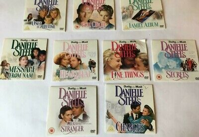 Collection Of 9 Danielle Steel  Dvds From The Daily Mail • 2.50£