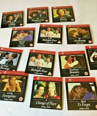 Collection Of 13 Mills And Boon Romance  Dvds From The Daily Mail • 2.50£