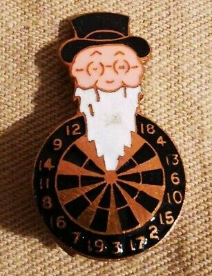 Darts 'William Younger & Co Ltd' Brewery 1950's-1960's Pin Badge Brooch Vintage • 9.99£