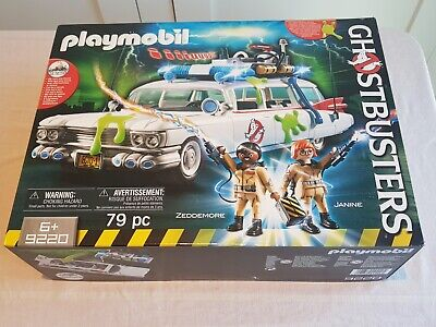 Playmobil 9220 Ghostbusters Ecto-1 Vehicle Brand New Unopened Boxed • 30£
