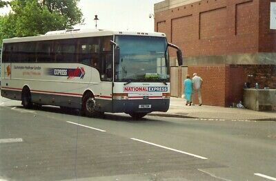 Bus Photo National Express Coach Photograph Picture Volvo Tellings Golden Miller • 1.15£