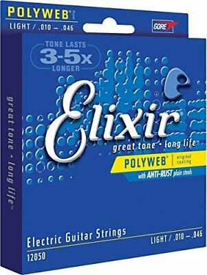 $ CDN31.48 • Buy Elixir Electric Guitar Strings POLYWEB Light .010-.046 # 12050