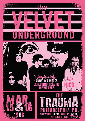 £13.50 • Buy Reproduction The Velvet Underground - The Trauma Poster, Home Wall Art