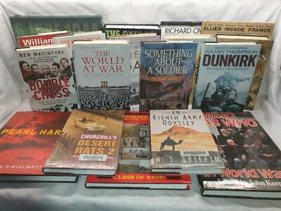 18 Books On   World War Two WW2 Military  Battles History  D- Day • 24.98£