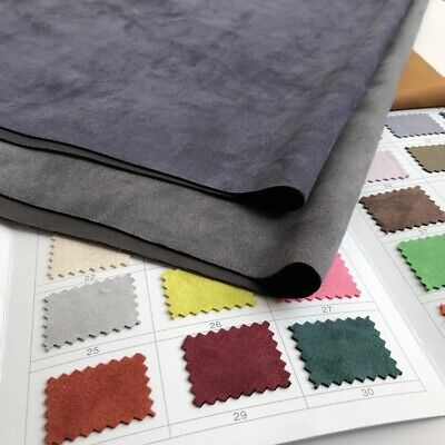 £35.33 • Buy 150cm*100cm Thick Suede Air Layer Fabric Faux Suede Fleece Stretch Fabric