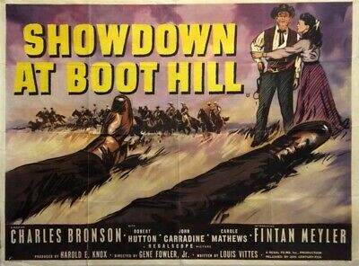Showdown At Boot Hill 1958 Charles Bronson Dvd • 3.50£