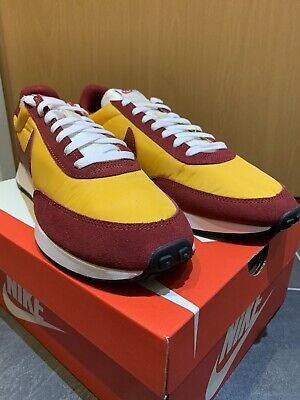 Nike Air Tailwind 79 UK 11 US 12 Eur 46 Gold Red Vortex Waffle Racer VRTX Retro • 56.99£