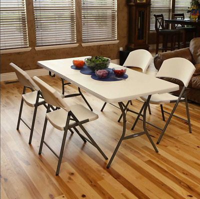 6ft Folding Dining Table Catering Camping Portable Picnic Table Heavy Duty  • 34.99£