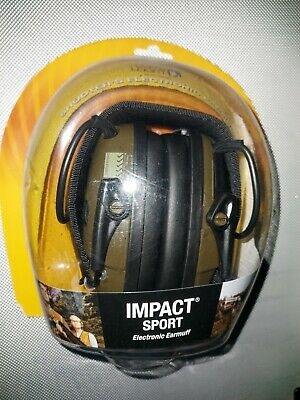 Howard Leight Electronic Impact Sport Hearing Protector Defenders Muff New • 65£