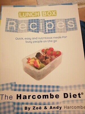 The Harcombe Diet Lunch Box Recipes • 3.99£
