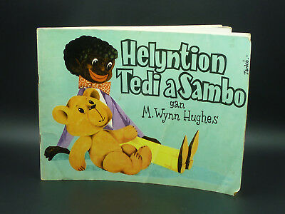 Helyntion Tedi A Sambo Children's Welsh Language Book M. Wynn Hughes 1968 • 21.97£