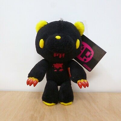 Chax GP Gloomy Bear Black & Yellow Standing Keychain Mascot Plush Soft Toy Japan • 19.99£