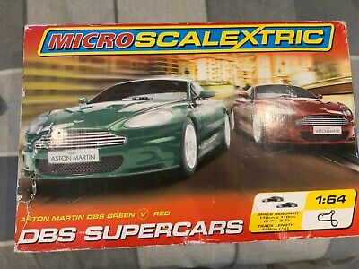 Scalextric Micro Boxset. Includes Cars, Track, Triggers And Mains Powered • 2.10£