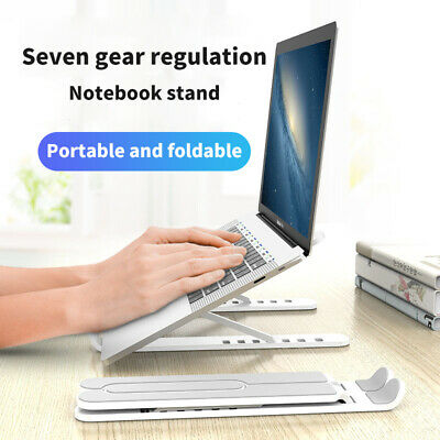 Portable Laptop Stand Foldable Bracket Base Mount For Apple Macbook HP Dell ASUS • 9.39£