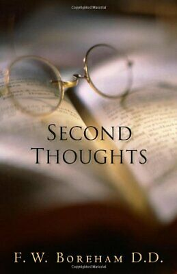 $ CDN36.38 • Buy Second Thoughts By Boreham, F W Book The Cheap Fast Free Post