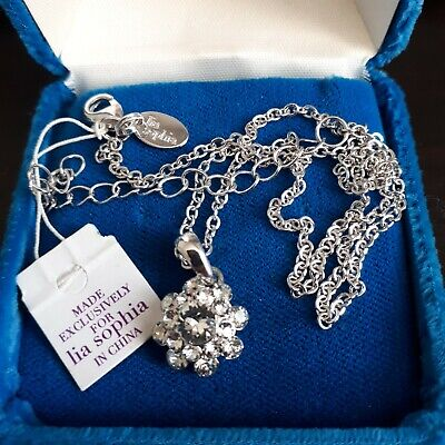 $ CDN49.99 • Buy Lot - Three Lia Sophia Necklaces - One NWT And Two Never Worn.