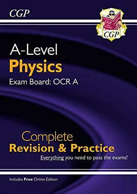 £8.99 • Buy A-Level Physics: OCR A Year 1 & 2 Complete Revision & Practice W... By CGP Books