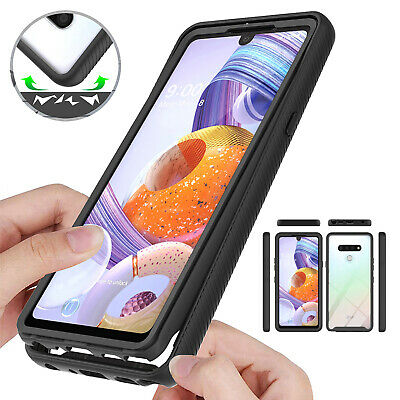 AU8.29 • Buy For LG Stylo 6 Q51 K51 G8X ThinQ V50S ThinQ Shockproof Hybrid Clear Case Cover