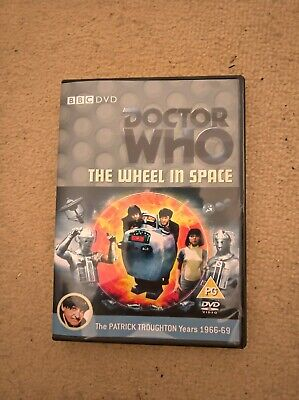 Doctor Who Patrick Troughton The Wheel In Space Custom Recon Dvd Case & Extras • 5.49£
