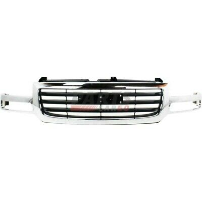 $199.85 • Buy New Grille Chrome Shell And Insert Fits 2003-2006 Gmc Sierra 1500 19130791