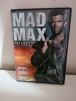 Mad Max  Trilogy. 3xdvd • 1.49£