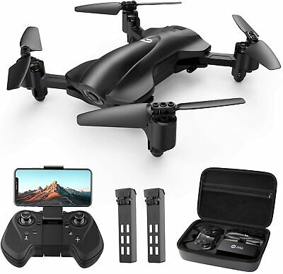 AU268.82 • Buy Holy Stone GPS FPV Drones With 2K HD Camera For Adults, Foldable, Auto Return