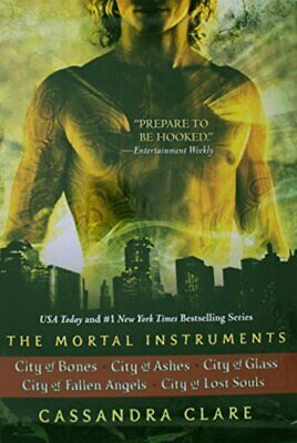 The Mortal Instruments City Of Bones City Of Ashes City Of Glass City Of Fall... • 89.29£