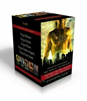 The Mortal Instruments City Of Bones City Of Ashes City Of Glass City Of Fall... • 40.18£