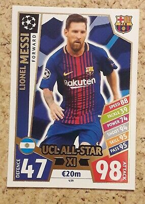 Topps Match Attax Champions League Lionel Messi • 2.15£