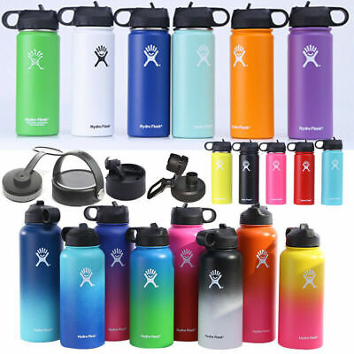 AU34.61 • Buy 18oz 32oz 40oz Hydro Flask Insulated Mouth Lid Straw Bottle Stainless Water Cup