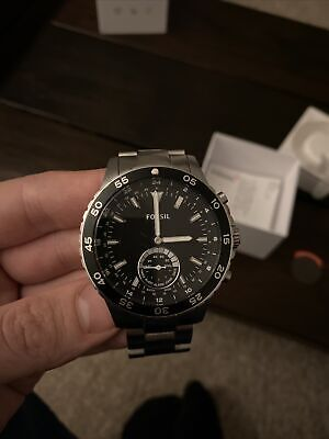 View Details Fossil Q Crewmaster Silver FTW1126 • 30.00£