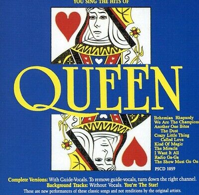 Various Artists : Karaoke: Queen Hits CD Highly Rated EBay Seller Great Prices • 24.99£