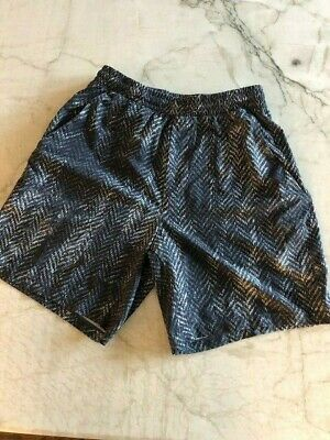$ CDN28.55 • Buy Lululemon Mens Athletic Shorts Blk/wht Size Small- Good Condition US BUYERS ONLY