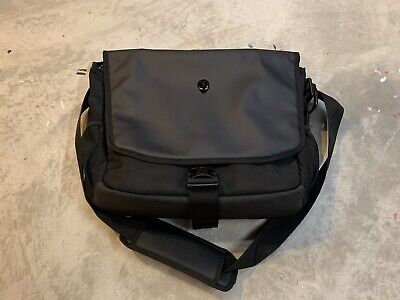 "$ CDN65.44 • Buy New W/o Tags Alienware Vindicator Padded Laptop Messenger Travel Bag 17"" Black"