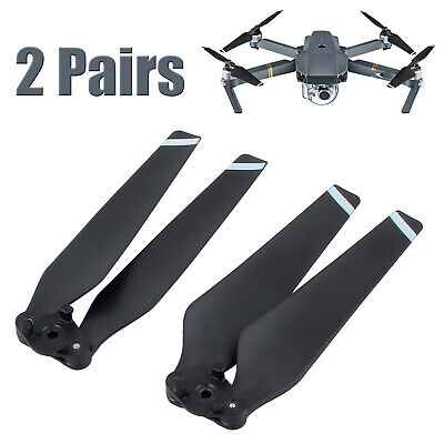 AU16.85 • Buy 2Pair DJI Mavic Pro Folding Propeller Quick Release 8330 Propellers Blades Black