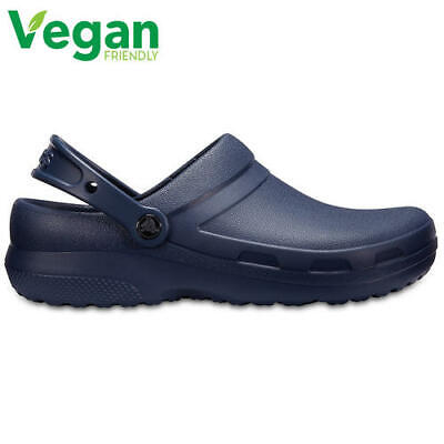 Crocs Specialist II Mens Womens Blue Medical Chef Work Clogs Vegan Shoes Size • 29.99£