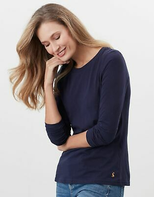 Joules Womens Selma Long Sleeve Crew - French Navy • 17.95£