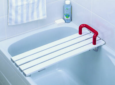 £34.96 • Buy Slatted Bath Board With Handle Mobility Safety Aid Personal Cleansing 26 Inch