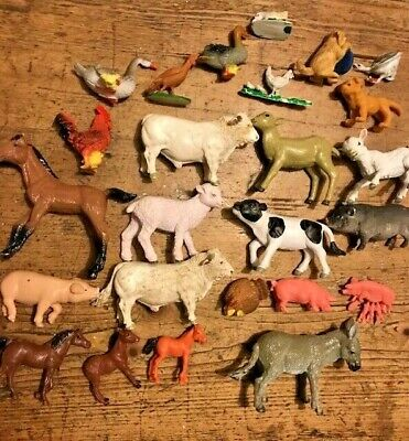 Assorted Toy Farm Animals - Early Learning Etc  • 6.50£
