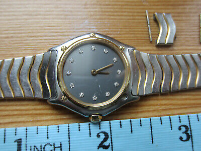 Ebel Sport Classic Gold And Steel Ladies Wrist Watch: For Spare Parts Only • 52£