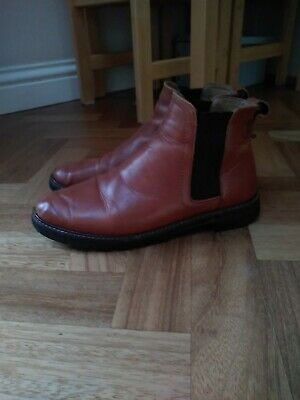 Dune Chelsea Boots Tan Leather Size 6 • 11.50£