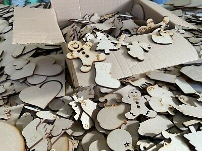 Wooden MDF Shapes Butterfly Scrapbook Embellishments Card Decorations • 9.95£