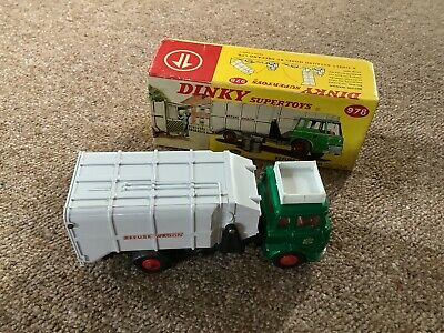 Vintage Dinky Supertoys 978 Refuse Wagon. Boxed. No Reserve. • 19.95£