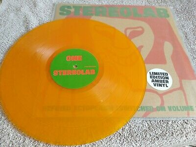 Stereolab Switched On Vol 2 Rare Original 1995 Limited Amber Vinyl 2lp • 14.99£