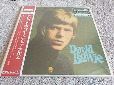 David Bowie S/t Rare Japan Rsd 2lp Red & Blue Vinyl With Obi & Insert New • 39£