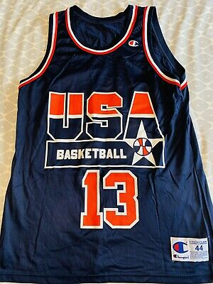 Champion USA Basketball Team Jersey Large #13 Shaquille O'Neal. Vintage. Rare • 44£