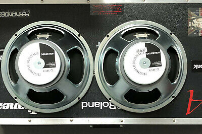 2 Celestion G12T-75 Speakers 16 Ohms - New - Removed From Cab • 100£