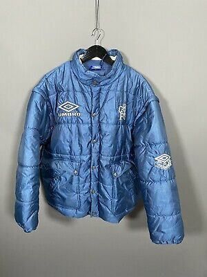 £149.99 • Buy UMBRO CHELSEA FC QUILTED 90s PUFFER Jacket - Large - Great Condition - Men's