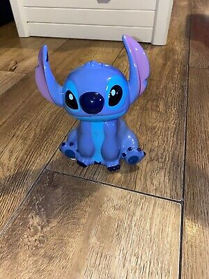 Disney Stitch Ceramic Money Box Piggy Bank • 7£