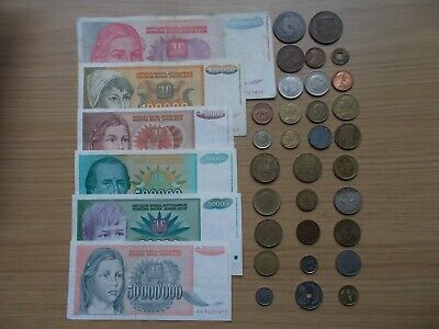 Foreign Coins And Banknotes - Job Lot • 1.20£
